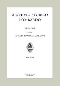 Archivio storico lombardo. Giornale della Società storica lombarda (2019). Vol. 24 - - wuz.it