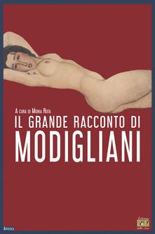 Il grande racconto di Modigliani - copertina