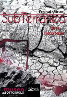 Fuoco sacro. SubTerranea 2019 - copertina