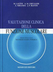 Libro Valutazione clinica della funzione muscolare