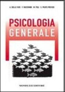 Foto Cover di Psicologia generale, Libro di  edito da Monduzzi
