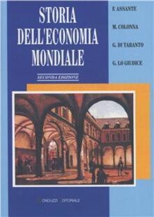 Storia dell'economia mondiale (secc. XVIII-XX) - copertina