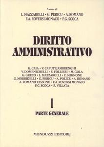 Libro Diritto amministrativo. Vol. 1: Parte generale.