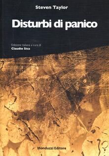 Disturbi di panico - Steven Taylor - copertina