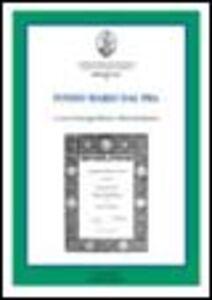 Foto Cover di Fondo Mario Dal Pra, Libro di  edito da Cisalpino