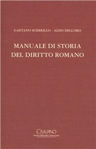 Manuale di storia del diritto romano