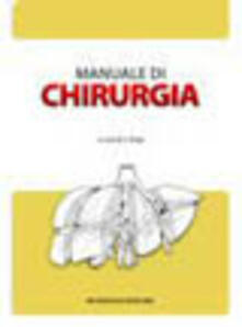 Manuale di chirurgia. Con CD-ROM - copertina