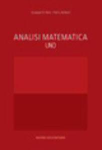Libro Analisi matematica 1 Giuseppe Di Fazio , Pietro Zamboni