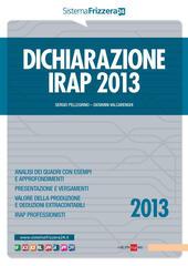 Dichiarazione IRAP 2013