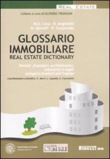 Steamcon.it Glossario immobiliare-Real estate dictionary. Ediz. italiana e inglese Image