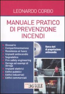 Winniearcher.com Manuale pratico di prevenzione incendi. Con CD-ROM Image