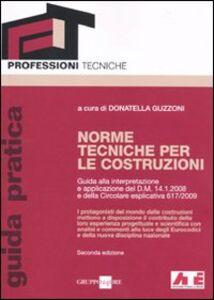 Libro Norme tecniche per le costruzioni