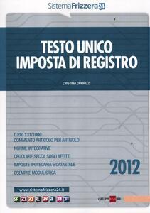 Testo unico imposta di registro