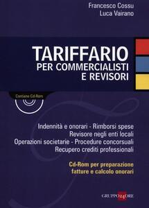 Tariffario per commercialisti e revisori. Con CD-ROM