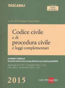 Libro Codice civile e di procedura civile e leggi complementari