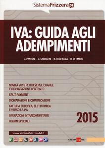 Libro Iva. Guida agli adempimenti 2015
