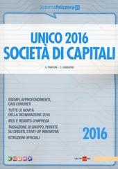 Unico 2016. Società di capitali