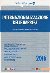 Libro Internazionalizzazione delle imprese