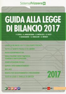 Guida alla legge di bilancio 2017