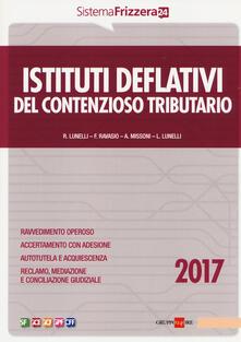 Filippodegasperi.it Istituti deflativi del contenzioso tributario 2017 Image