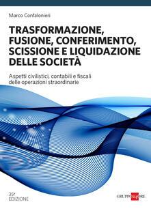 Steamcon.it Trasformazione, fusione, conferimento, scissione e liquidazione delle società Image
