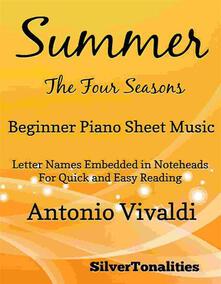 Summer Four Seasons Beginner Piano Sheet Music