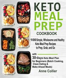Keto Meal Prep Cookbook