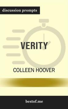 "Summary: ""Verity"" by Colleen Hoover 