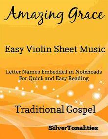 Amazing Grace Easy Violin Sheet Music