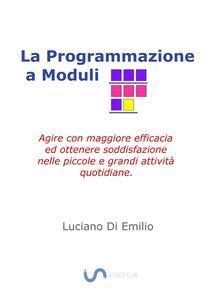 La programmazione a moduli. Agire con maggiore efficacia ed ottenere soddisfazione nelle piccole e grandi attività quotidiane - Luciano Di Emilio - ebook