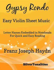 Gypsy Rondo Easy Violin Sheet Music