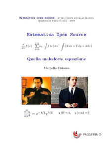 Quella maledetta equazione - Marcello Colozzo - ebook