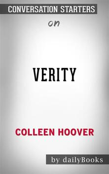 Verity: by Colleen Hoover | Conversation Starters