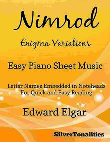 Nimrod Enigma Variations Easy Piano Sheet Music