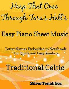 Harp That Once Through Tara's Halls Easy Piano Sheet Music