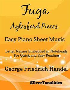 Fuga Aylesford Pieces Easy Piano Sheet Music