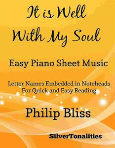 It Is Well With My Soul Easy Piano Sheet Music