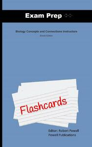 Exam Prep Flash Cards for Biology Concepts & Connections Instructors ...