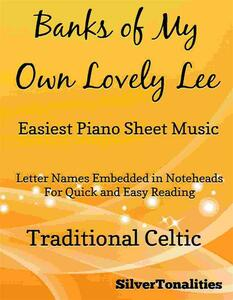 Banks of My Own Lovely Lee Easiest Piano Sheet Music