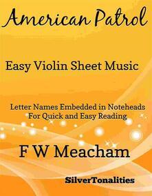 American Patrol Easy Violin Sheet Music