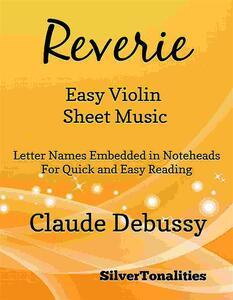 Reverie Easy Violin Sheet Music