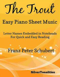 The Trout Easy Piano Sheet Music