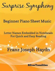 Surprise Symphony Beginner Piano Sheet Music