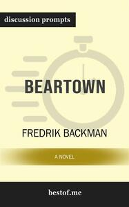 """Summary: """"Beartown: A Novel"""" by Fredrik Backman 