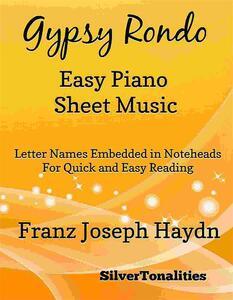 Gypsy Rondo Easy Piano Sheet Music