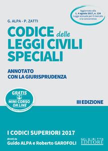 Codice delle leggi penali speciali. Annotato con la giurisprudenza. Con Contenuto digitale per download e accesso on line