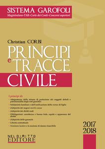 Principi e tracce civile