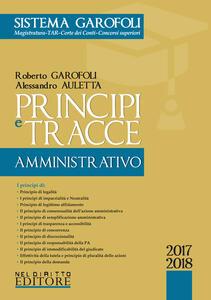 Principi e tracce di amministrativo