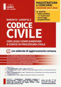Codice civile con leggi complementari e codice di procedura civile. Concorso magistratura. Con Contenuto digitale per download e accesso on line