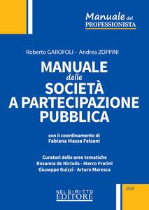Manuale delle società a partecipazione pubblica